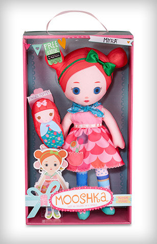 Amazon.com: Mooshka Sing Around the Rosie Doll - Myra: Toys & Games