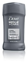 cool silver antiperspirant