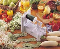 Paderno world cuisine a4982799 tri blade - Paderno world cuisine spiral vegetable slicer ...