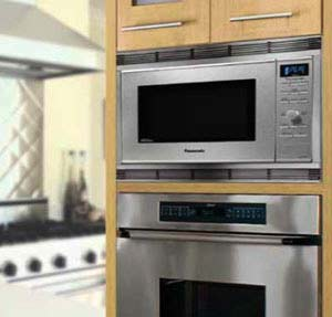 Countertop Microwave To Built In : ... Countertop/Built-in Microwave with Inverter Technology: Countertop