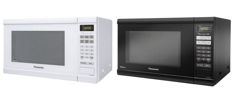 Amazon Com Panasonic Nn Sn651waz White 1200w 1 2 Cu Ft