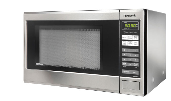Countertop Oven With Microwave : ... microwave oven with Inverter technology for true, variable microwave
