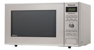 B00785MVRA main t  Panasonic NN SD372S 0.8 cuft 950 Watt Microwave with Inverter Technology, Stainless Steel