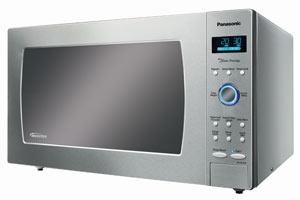 B00785N6K6 main t  Panasonic NN SE982S Genius Prestige 2.2 cuft 1250 Watt Sensor Microwave with Inverter Technology & Blue Electrostatic Dial, Stainless Steel