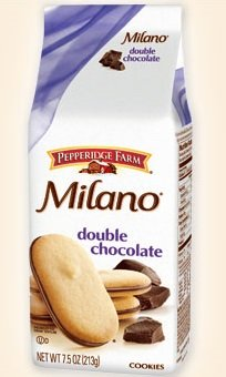 Milano Double Chocolate Cookies Ingredients