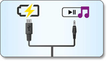 Charge and play in one cable