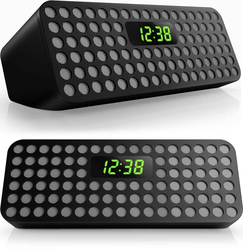 Philips Bluetooth Wireless Speaker with Clock Display
