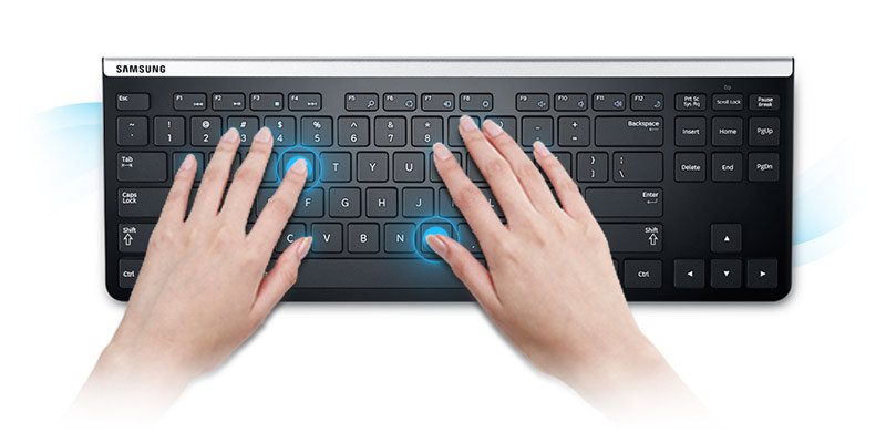 5f805609bd6 Amazon.com: Samsung Compact Wireless USB Keyboard (AA-SK6PWUB/US ...