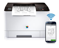 Samsung Xpress C1810W Color Printer Product Shot