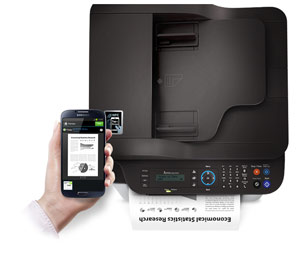 Samsung Xpress M2070FW Multifunction Printer Product Shot