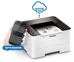 Samsung Xpress M2835DW Printer Product Shot