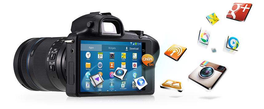 Amazon com : Samsung Galaxy NX EK-GN120ZKZXAR Galaxy