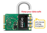 Samsung 840 EVO Series 250 GB mSATA Internal SSD (Single Unit Version) Product Shot