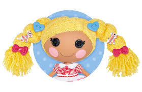 These Lalaloopsy have Loopy Hair made out of long, soft yarn that you can style, twist, braid, and brush!