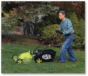 Sun Joe Mow Joe 20-IN Bag/Mulch/Side Discharge Electric Lawn Mower
