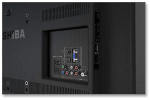 Toshiba 39L2300U 39-Inch 1080p 120Hz LED HDTV Product Shot
