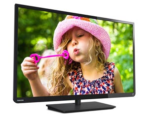 Toshiba 32L1400U 32-Inch 720p 60Hz LED HDTV (Black) Product Shot