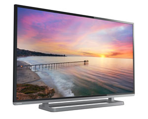 Toshiba 50L3400U 50-inch 1080p 120Hz Smart LED HDTV (Black) Product Shot