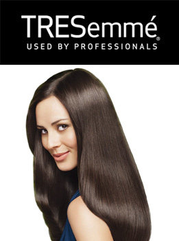 Tresemme Logo and model