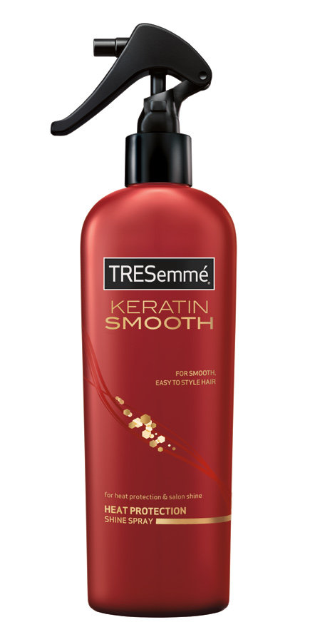 protecting hair from heat styling tresemm 233 keratin smooth heat defense spray 8 8547