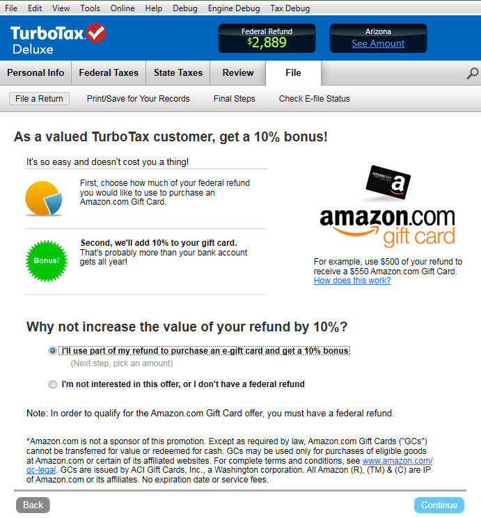 Amazon.com: TurboTax Deluxe Fed + Efile + State 2013 + Refund ...