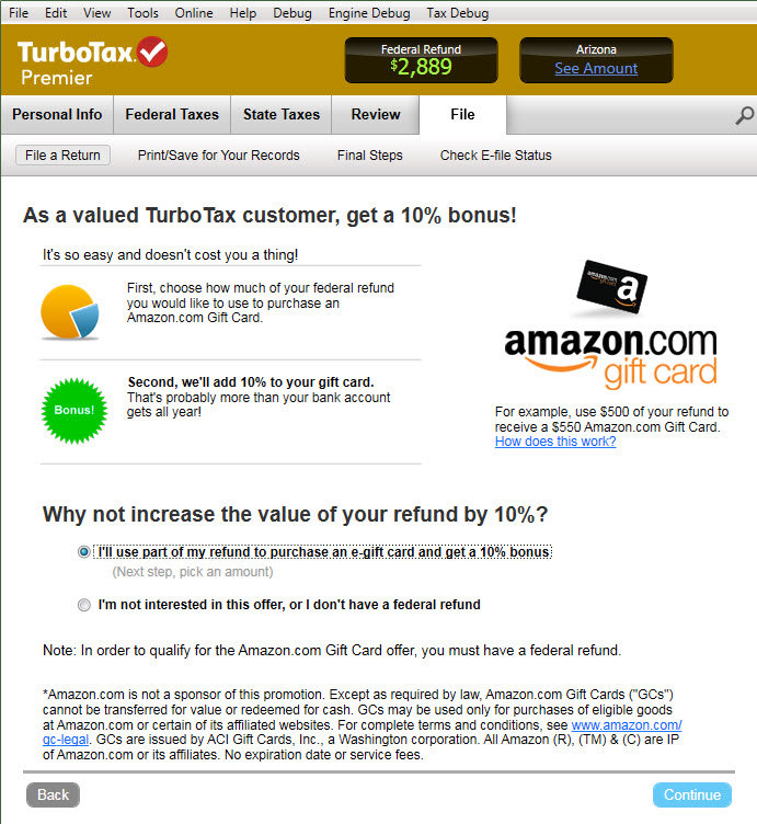 Amazon.com: TurboTax Premier Fed + Efile + State 2013 + Refund ...