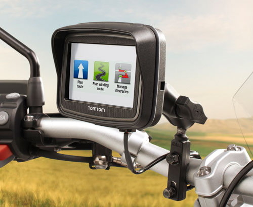 tomtom rider motorcycle gps navigator with lifetime maps cell phones accessories. Black Bedroom Furniture Sets. Home Design Ideas