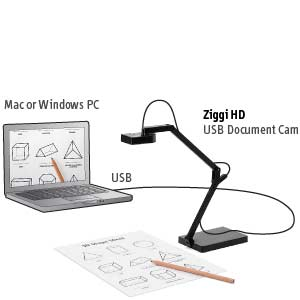Amazon.com: IPEVO Ziggi-HD High-Definition USB Document Camera ...