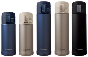 Zojirushi SlickSteel Travel Mugs
