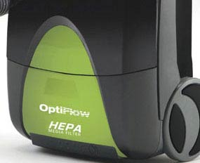 HEPA media filter