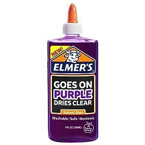 Elmer's Disappearing Purple Liquid School Glue
