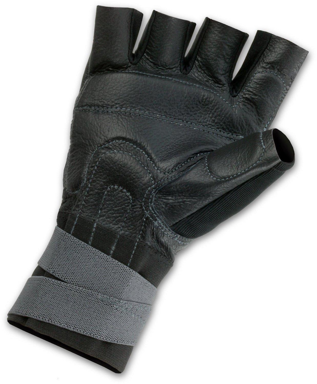 Fingerless impact gloves - View Larger