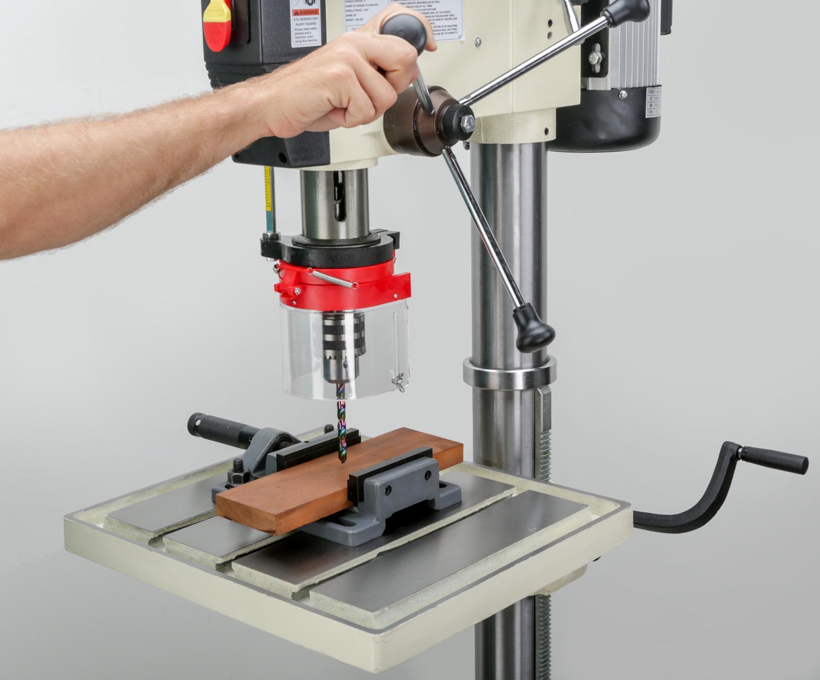 Shop Fox M1039 20 Inch Drill Press Power Stationary Drill Presses