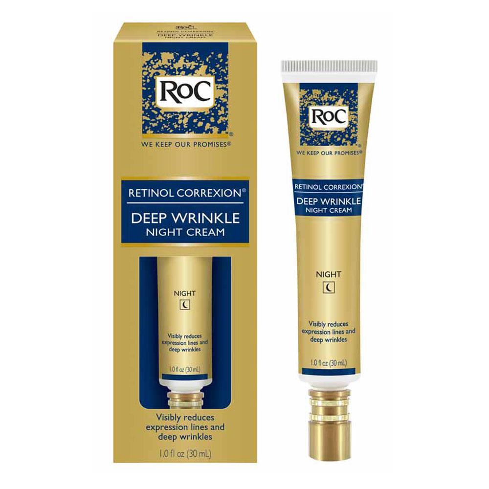 Amazon.com: RoC Retinol Correxion Deep Wrinkle Facial