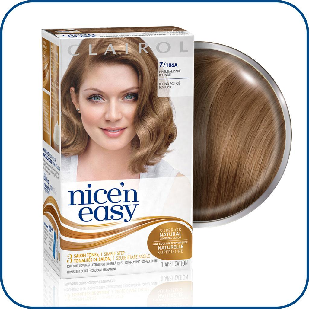 Amazon Com Clairol Nice N Easy Original 7 Dark Blonde