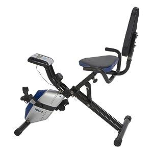 ProGear 190 Compact Space Saver Recumbent Bike with Heart Pulse Sensors