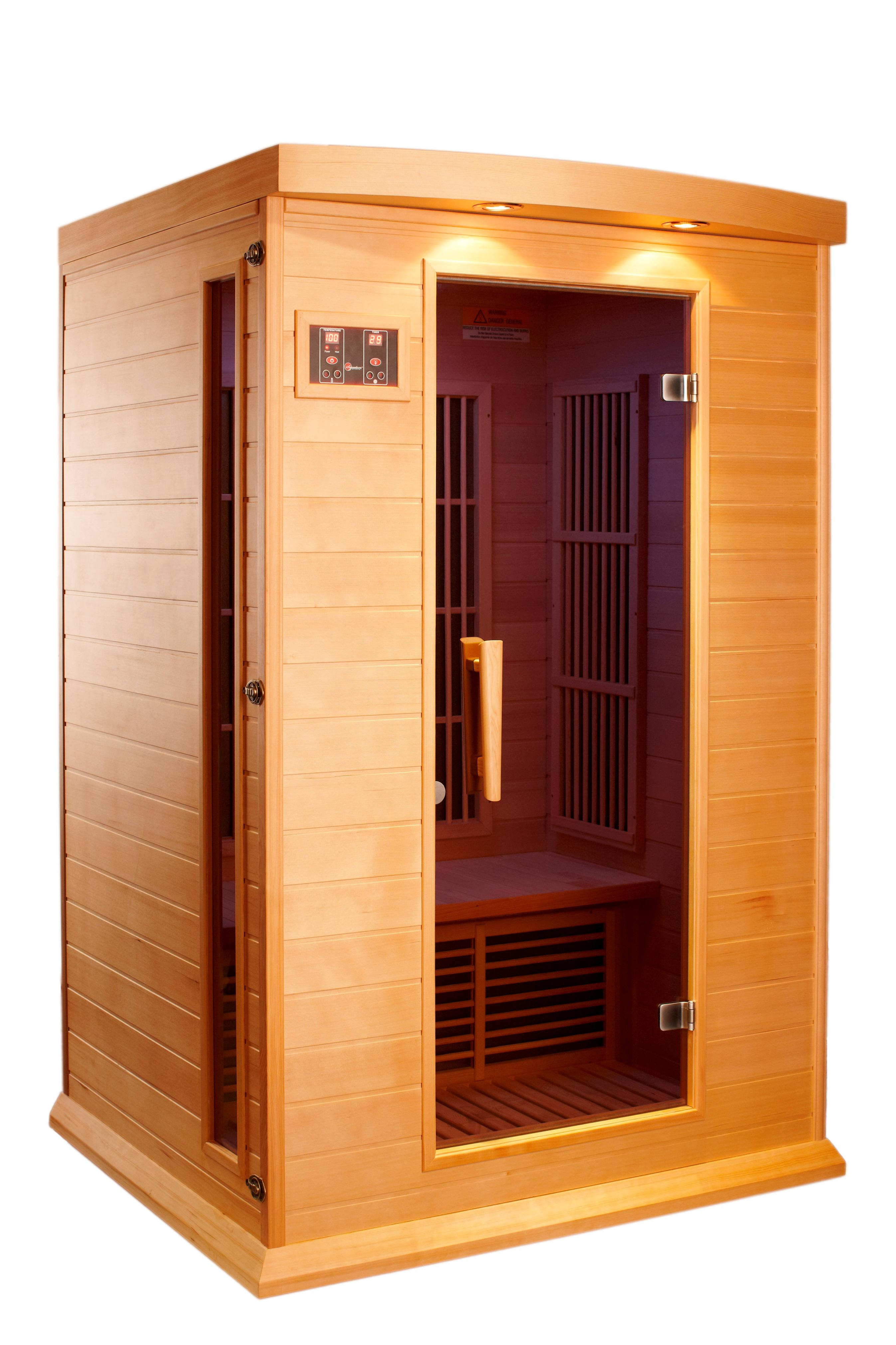 dynamic saunas amz mx k206 01 maxxus toulouse 2 person far infrared sauna garden. Black Bedroom Furniture Sets. Home Design Ideas