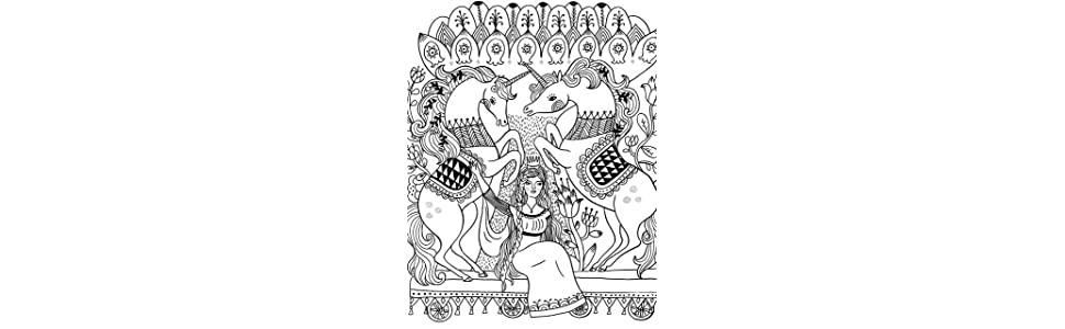 Just Add Color: Carnival: 30 Original Illustrations To Color ...