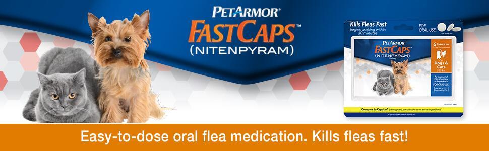 Amazon Com Petarmor Fastcaps Nitenpyram Oral Flea