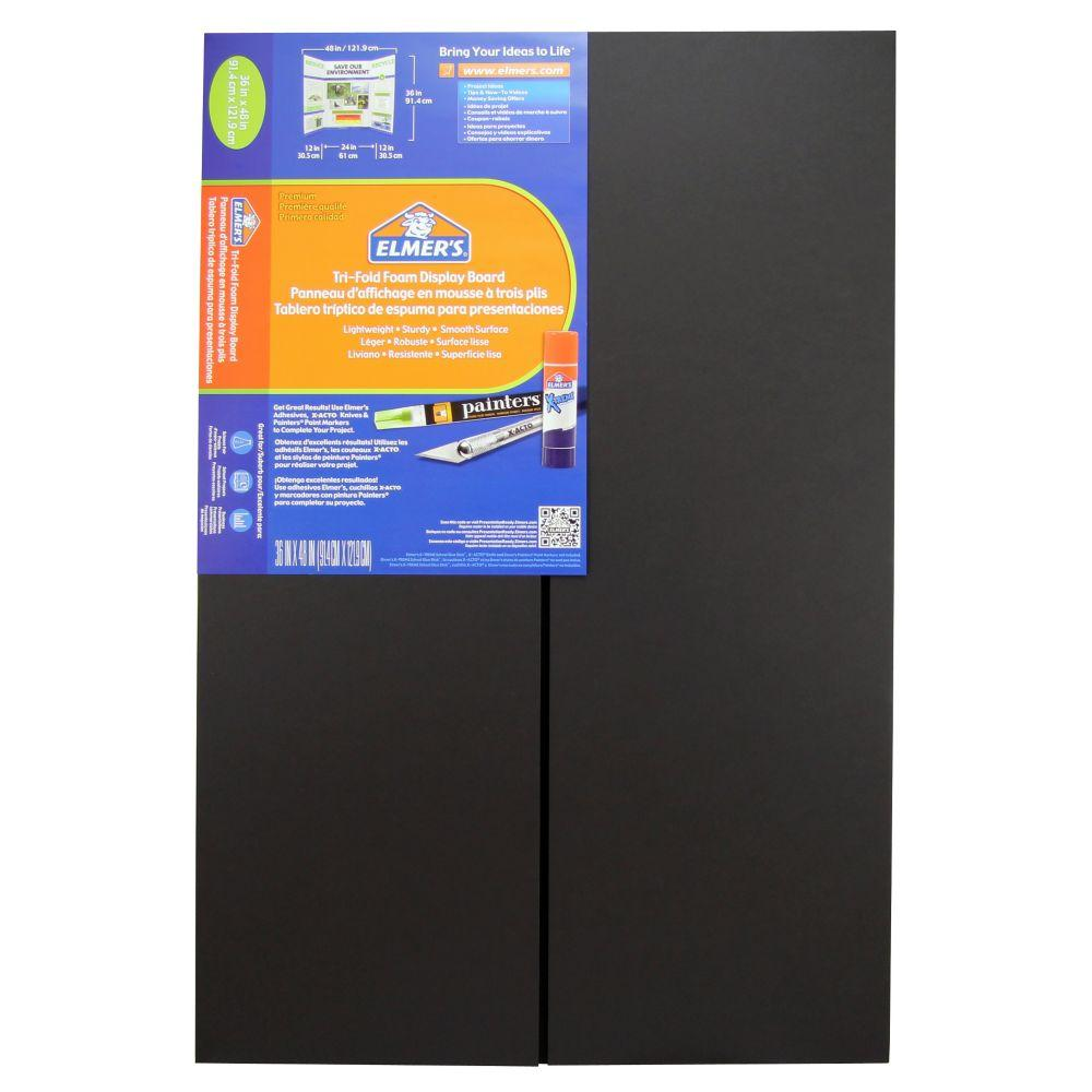 amazoncom elmers trifold premium foam display board