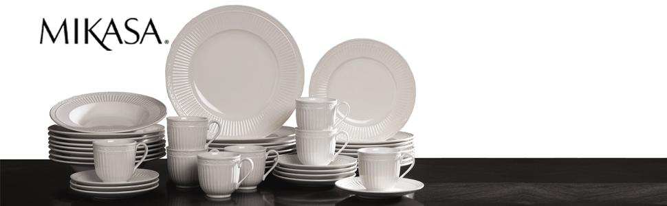 Mikasa Italian Countryside. Set your table with our beautiful dinnerware ...  sc 1 st  Amazon.com & Amazon.com: Mikasa Italian Countryside 40-Piece Dinnerware Set ...
