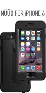 apple, iphone 6, waterproof, lifeproof, nuud, water, proof, music, authentic, compare
