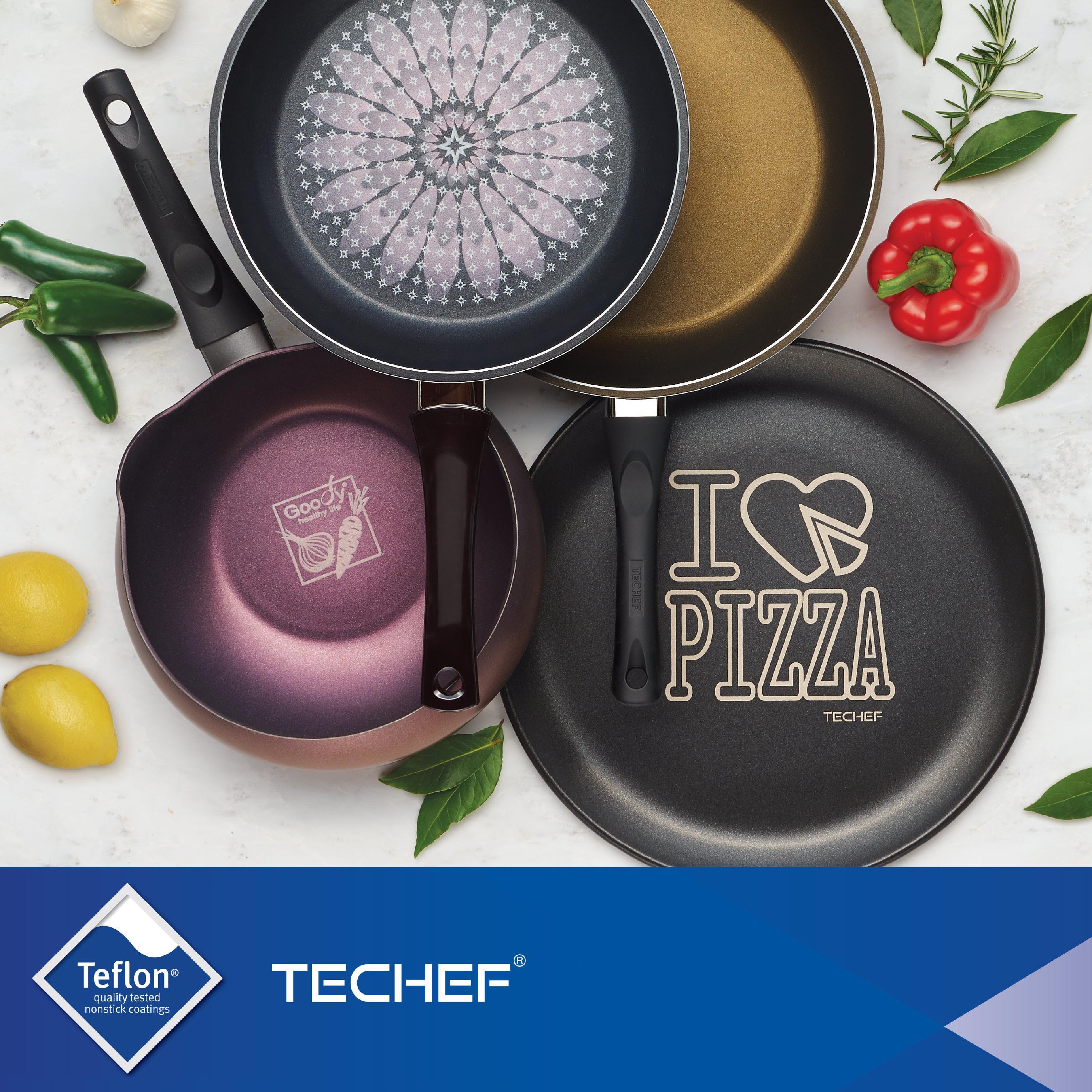 Amazon Com Techef Blooming Flower 11 Inch Frying Pan