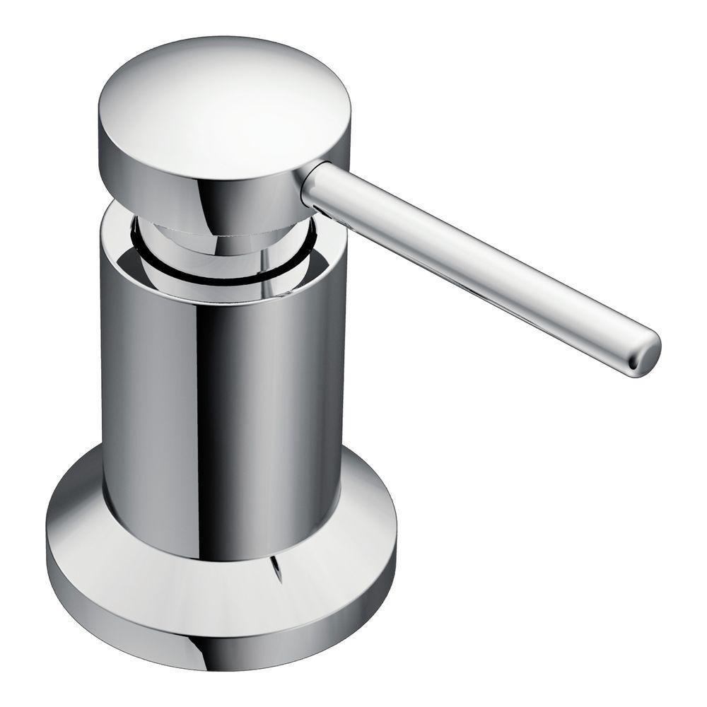 moen soap and lotion dispenser · view larger. moen  kitchen soap and lotion dispenser chrome  in sink soap