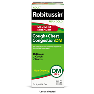 Amazon.com: Robitussin DM Adult Maximum Strength Non ...