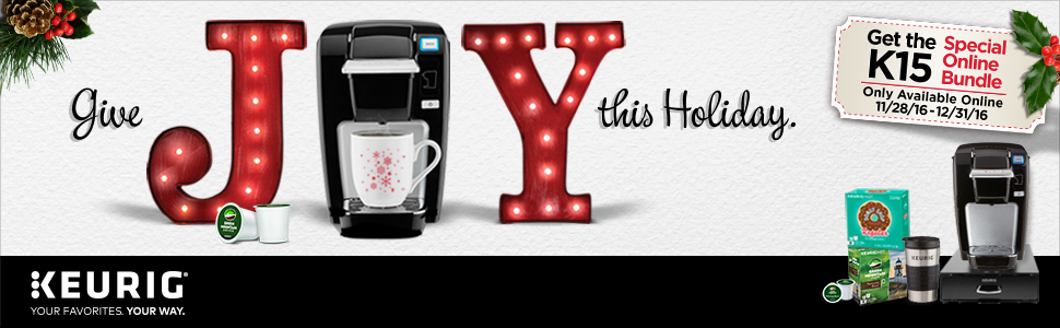 Amazon Com Keurig K15 Coffee Maker Single Serve K Cup