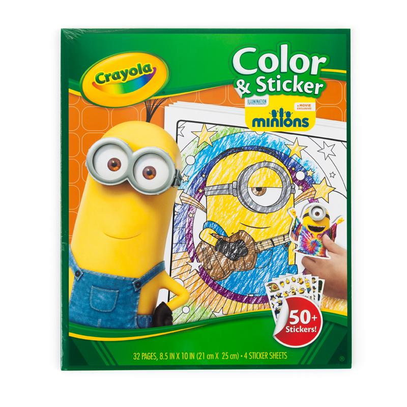 Amazon Crayola Color And Sticker Pages