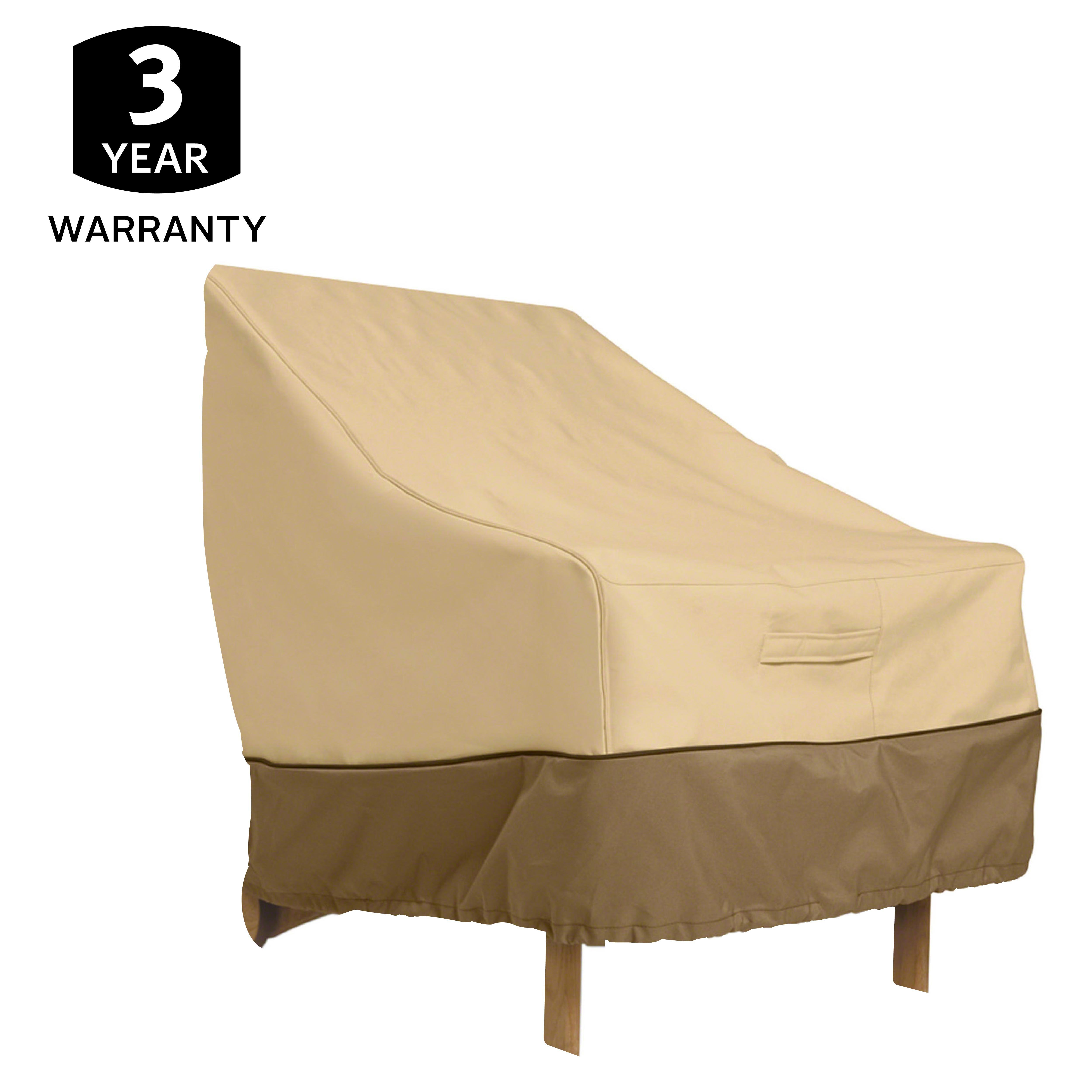 Classic Accessories Veranda Patio Chair Cover Durable and Water Resistant