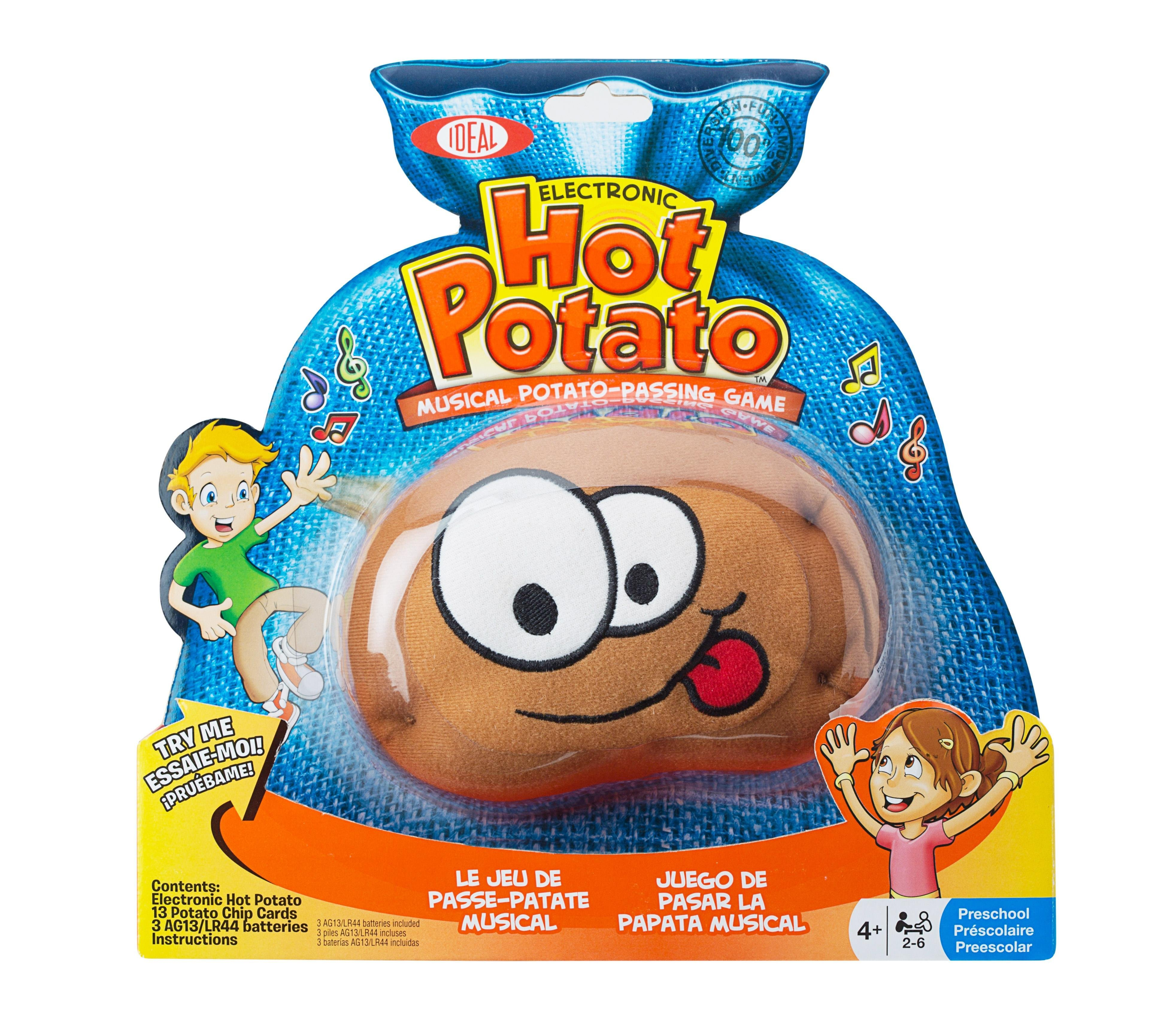 Amazon.com: Ideal Hot Potato Electronic Musical Passing Game: Toys ...
