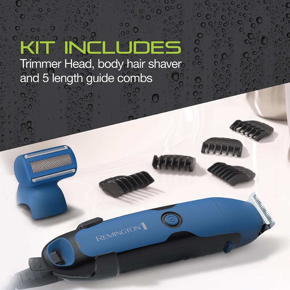 remington pg6250 wettech lithium powered head beard body grooming kit trimmer. Black Bedroom Furniture Sets. Home Design Ideas